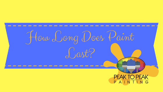 How Long Does Paint Last_
