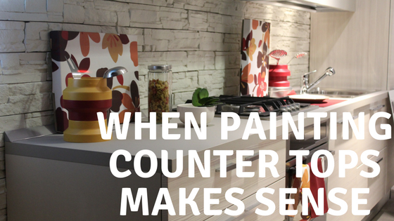 Painting counter tops